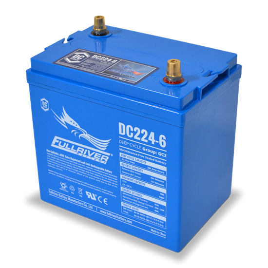 Picture of Battery - Fullriver DC 224-6A