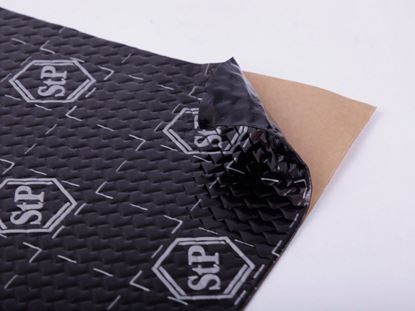 Picture of Insulation Material - STP Black Silver Shop Pack