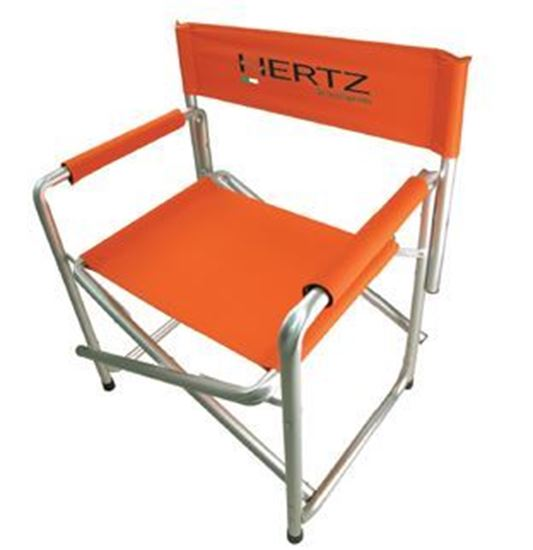 Picture of Chair - Hertz Director Aluminium Chair