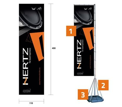 Picture of T Banner - Hertz