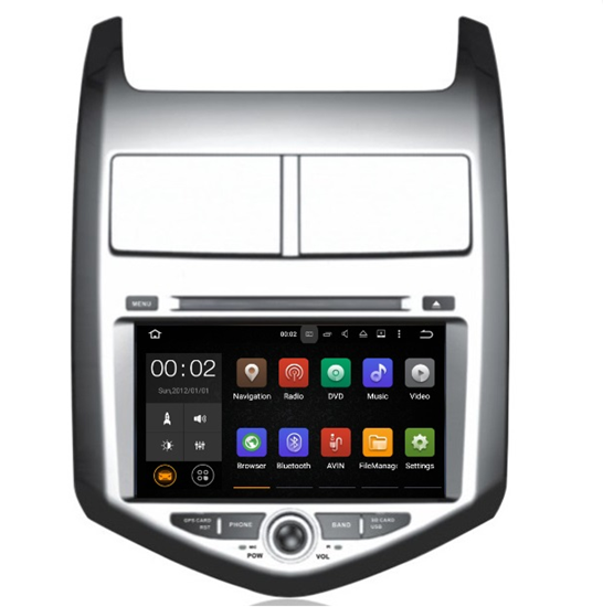 Picture of Display - CHEVROLET AVEO 2013> AN7107GPS