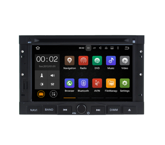 Picture of Display - CITROËN 3008/5008 2009-2016 & CITROEN BERLINGO  AN7558GPS