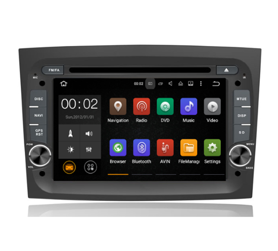 Picture of Display - FIAT Punto Grande 2005 - 2011 AN7263GPS