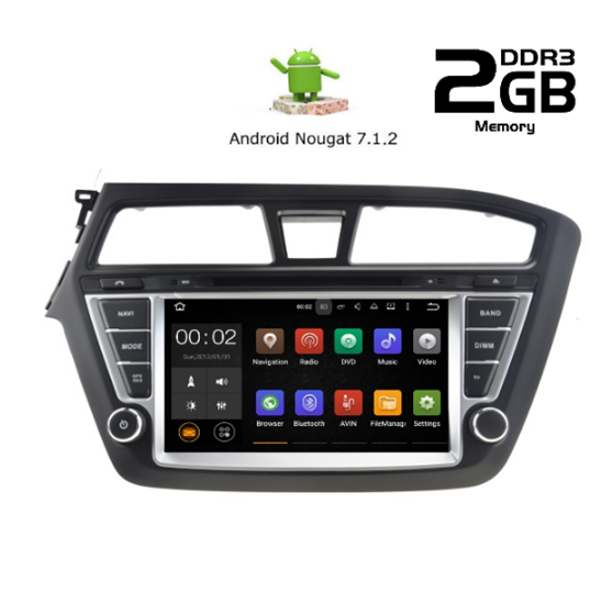 Picture of Display - HUYNDAI i20 2014> AN7517 GPS