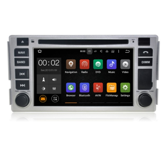 Picture of Display - HUYNDAI SANTA FE 2006 - 2013 AN7008 GPS