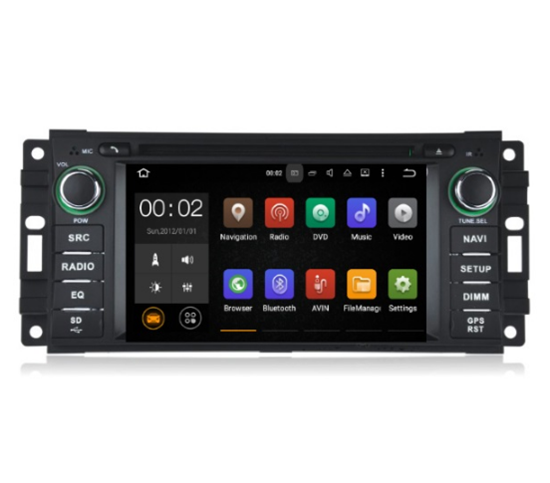 Picture of Display - JEEP 2007-2012 AN7202 GPS