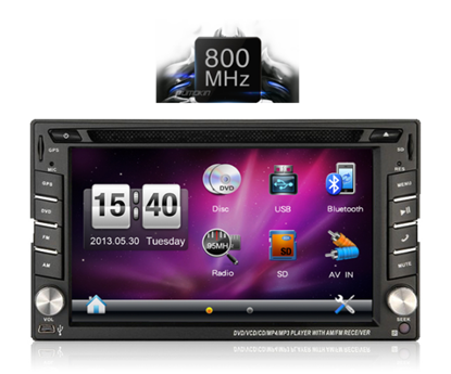Picture of Display 2 DIN - IQ CR245 GPS