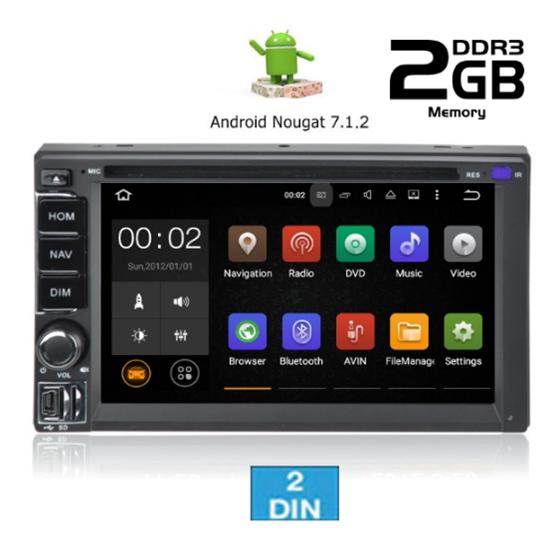 Εικόνα από Οθόνη 2 DIN - IQ AN7802 GPS