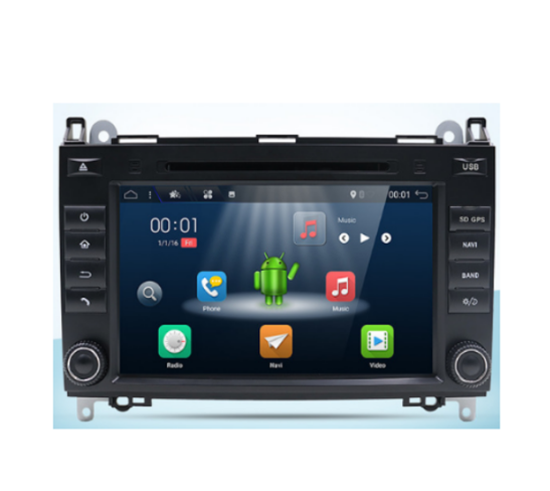 Picture of Display - Οθόνη - MERCEDES A CLASS 2004-2015 AN7868 GPS