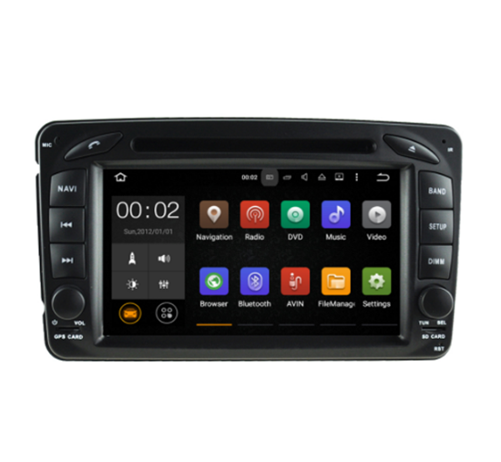 Picture of Display - Οθόνη - MERCEDES CLK 1994-2004 AN7171 GPS