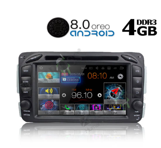 Picture of Display - Οθόνη - MERCEDES C CLASS 1999-2004 AN8171 GPS
