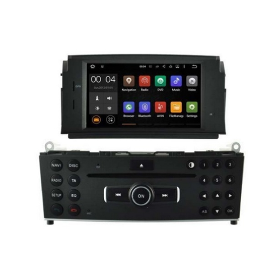 Picture of Display - Οθόνη - MERCEDES C CLASS 2007-2011 AN7171 GPS
