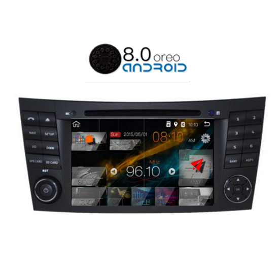 Picture of Display - Οθόνη - MERCEDES E CLASS 2003-2009 AN7490 GPS