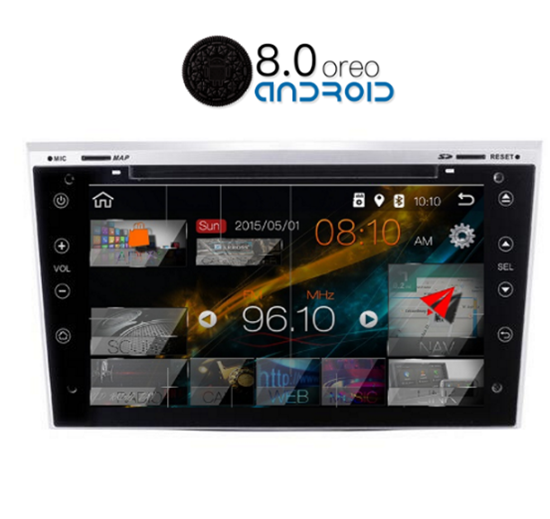 Picture of Display - OPEL Corsa 2003 - 2011 AN8019GPS