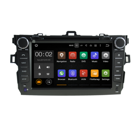 Picture of Display - TOYOTA COROLLA 2007-2012 AN7063GPS