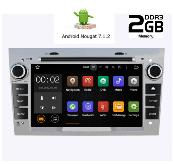 Picture of Display - OPEL ALL MODELS 2003 - 2011 AN7019GPS
