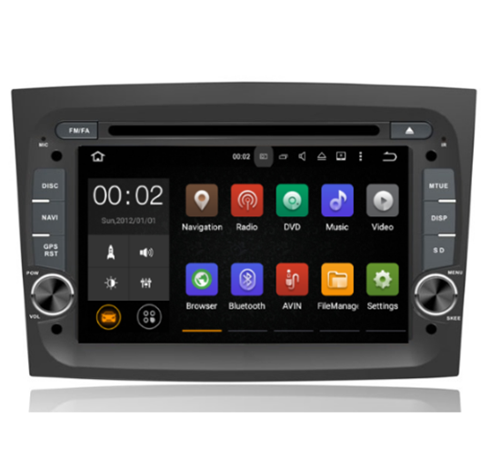 Picture of Display - FIAT Doblo 2015> AN7538GPS