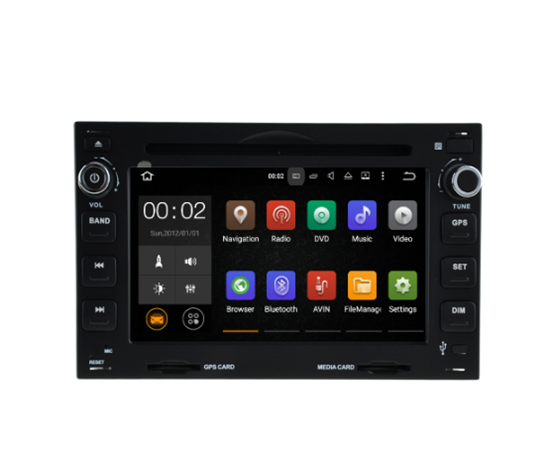 Picture of Display - PEUGEOT 207 2007-2013 AN7017CGPS