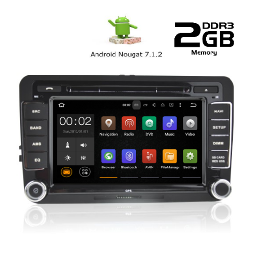 Picture of OEM Display - Volkswagen 2003-2014 AN7004GPS