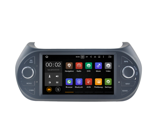 Picture of Display - FIAT Qubo 2008> AN7195 GPS Android 7.1.2
