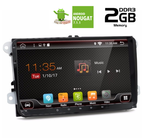 Picture of OEM Display - SEAT Altea 2003-2014 AN7970GPS