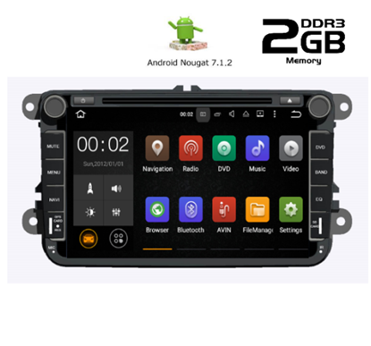 Picture of OEM Display - SEAT Alhabra 2003-2014 AN7370GPS