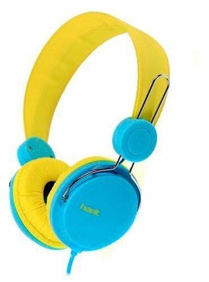 Εικόνα από Καλωδιακά Ακουστικά - Havit H2198d (YELLOW & BLUE)