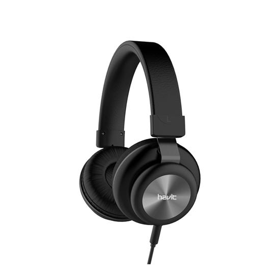 Picture of Wired Headphones - Havit H2263d (BLACK)