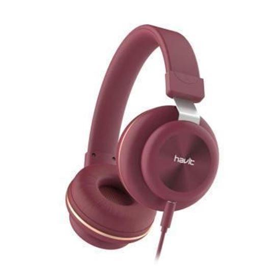 Εικόνα από Καλωδιακά Ακουστικά - Havit H2263d (RED)