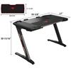 Picture of Gaming Table - Eureka Ergonomic® ERK-EDK-Z2BK