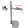 Picture of Gaming Table - Eureka Ergonomic® MCH-GY PC Holder (Grey)