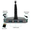 Εικόνα από Gaming Αξεσουάρ Γραφείων - Eureka Ergonomic® USB3-310 Mouse Clam με USB