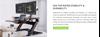 Picture of Gaming Table - Eureka Ergonomic® CV-PRO 36 (Black)