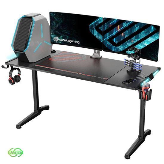 Εικόνα από Gaming Γραφείο - Eureka Ergonomic® ERK-GIP-55B