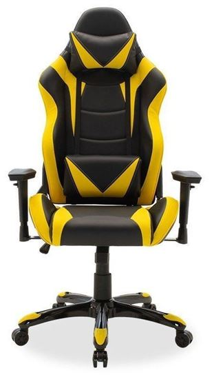 Picture of Gaming Chair - Russell - Yellow/Black