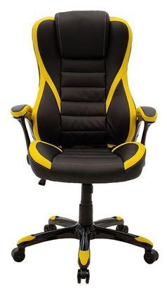 Εικόνα της Gaming Καρέκλα - Starr - Μαύρο/Κίτρινο