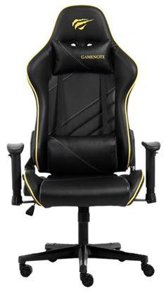 Εικόνα της Gaming Καρέκλα - Gamenote GC930 Μαύρο/Κίτρινο