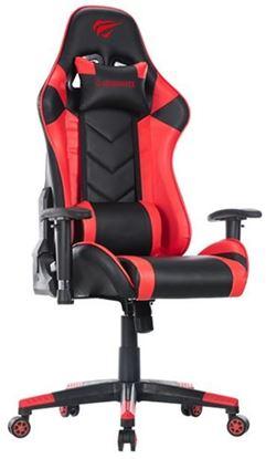 Εικόνα της Gaming Καρέκλα - Gamenote GC932 Μαύρο/Kόκκινο