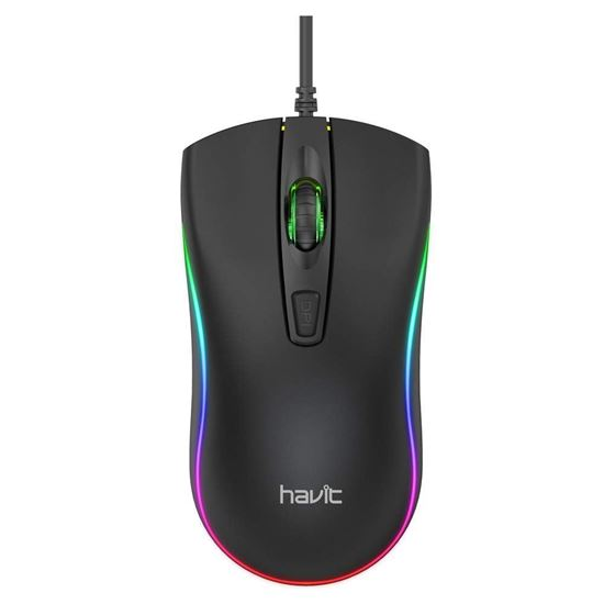 Picture of Gaming Mouse - Havit MS72 RGB