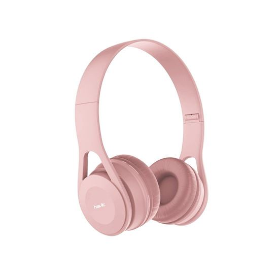 Picture of Wired Headphones - Havit  H2262D (Pink)