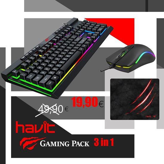 Εικόνα από Gaming Πακέτο - Havit ''VS1'' 3 σε 1 Combo
