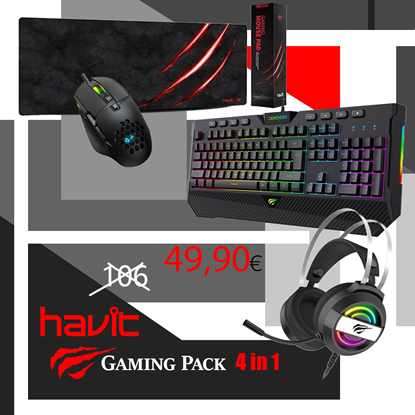 Picture of GAMING 4 IN 1 COMBO - Havit ''VS3'' 4 σε 1 Combo