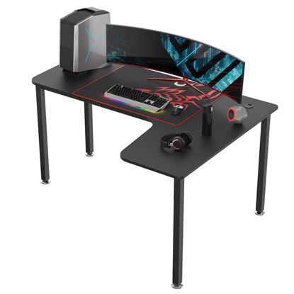 Εικόνα της Gaming Γραφείο - Eureka Ergonomic® ERK-CD-L01R-60B-V2