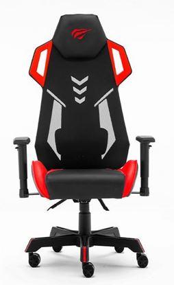 Εικόνα της Gaming Καρέκλα - Gamenote GC935 Μαύρο/Κόκκινο