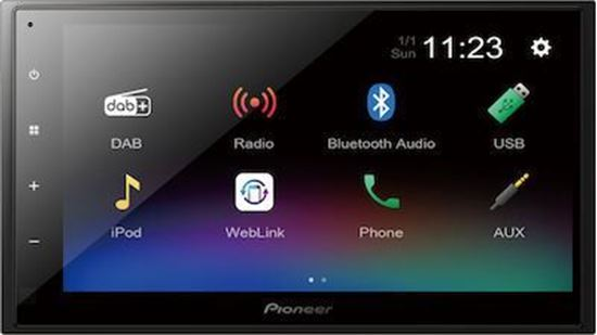 Picture of Car Multimedia System 2DIN -  Pioneer DMH-A340DAB