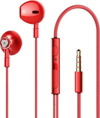 Εικόνα της Καλωδιακά Ακουστικά - Lenovo HF140 (RED)