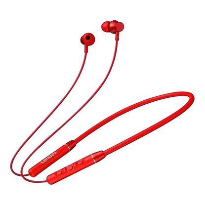 Picture of Wireless Headphones - Lenovo QE03 (RED)