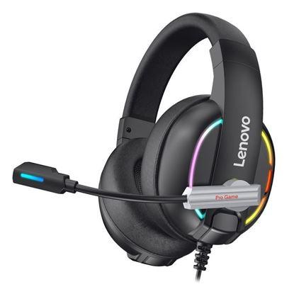 Εικόνα της Gaming Ακουστικά - Lenovo HU75 Color LED