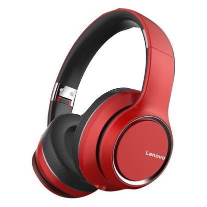 Picture of Wireless Headphones - Lenovo HD200 (RED)